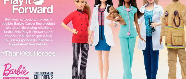 Mattel to Donate Barbies to COVID-19 First-Responder Families – WWD